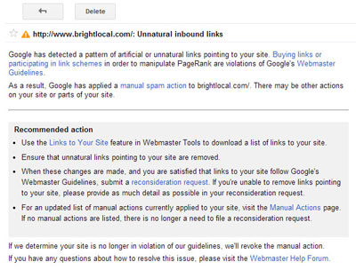 Unnatural Inbound Links