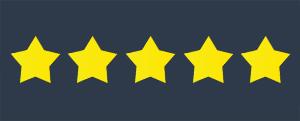 star ratings in online reviews