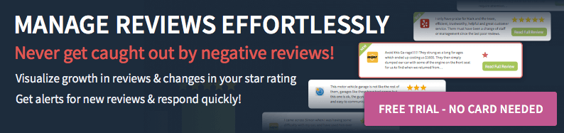 manage online reviews