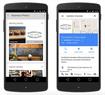Google My Business photo updates