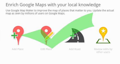 Enrich Google Maps