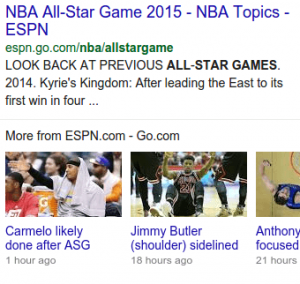 Rich Snippet Articles Content Carousels