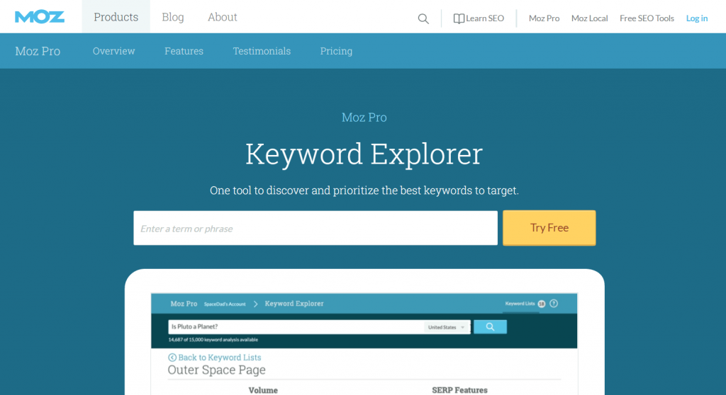 moz-free-keyword-research-tool