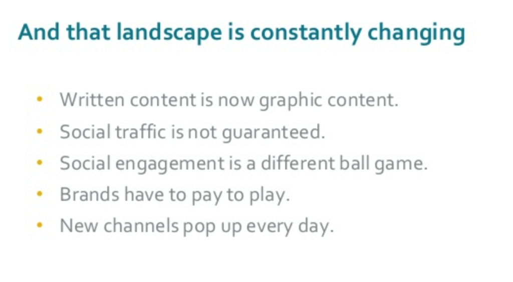 social and seo landscape is changing