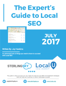 Experts Guide to Local Search
