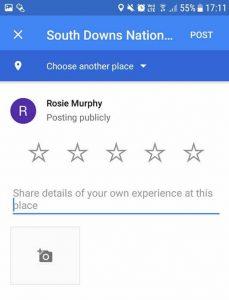 Google Reviews Popup