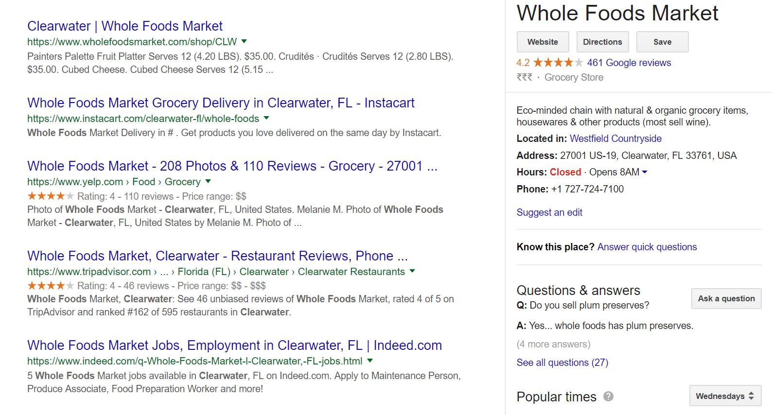 Google Location Test