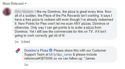 Dominos Complaint 2