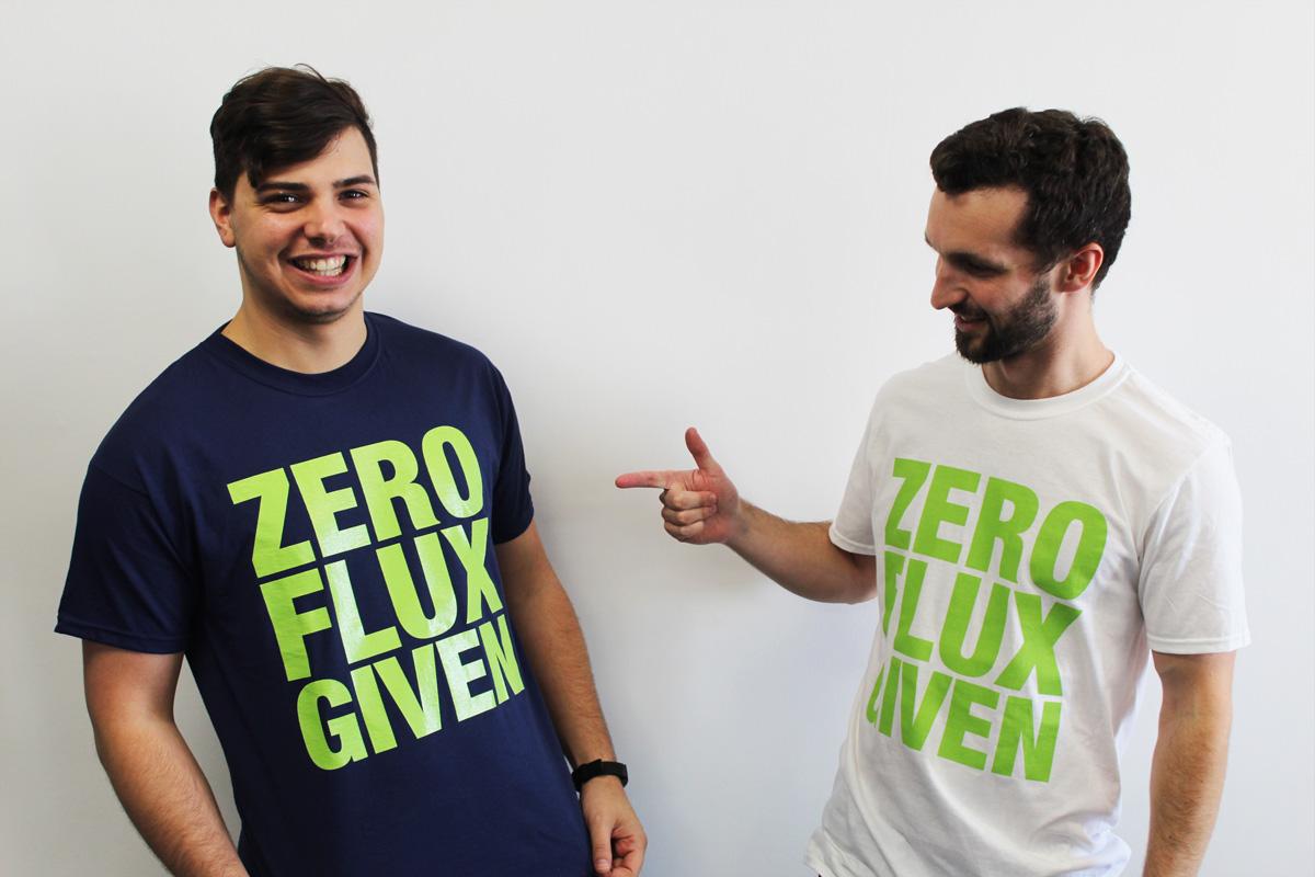Local RankFlux t-shirts