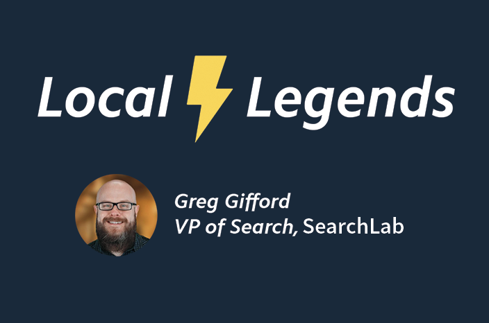Local Legends: Greg Gifford on Pay-to-Play, Real-world Signals and What's Next for Local Search