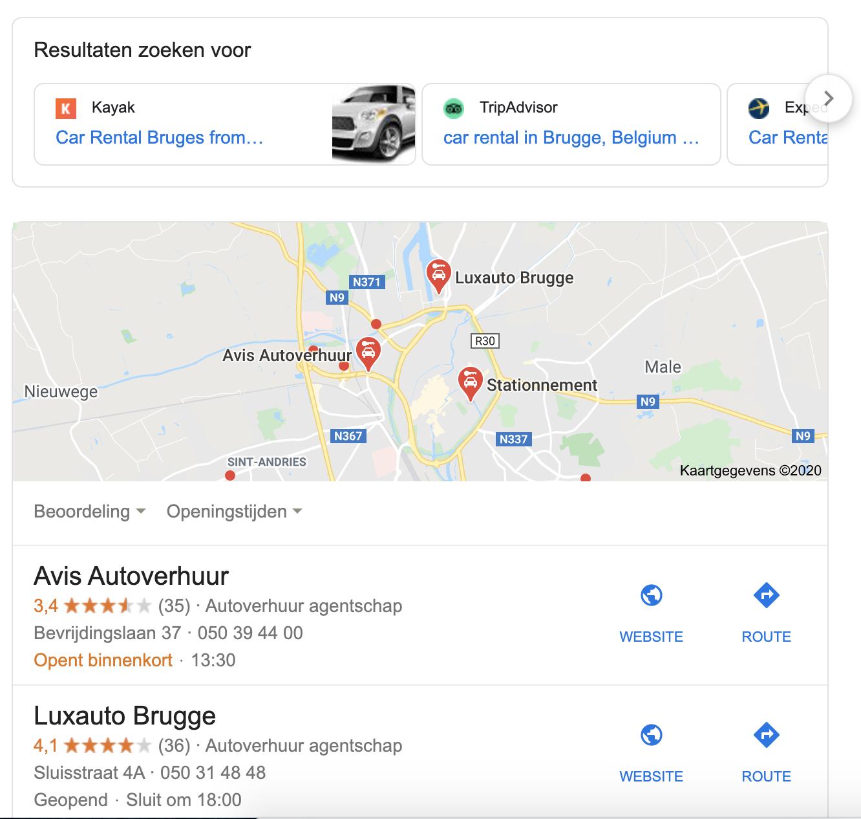 Car rental Germany EU search