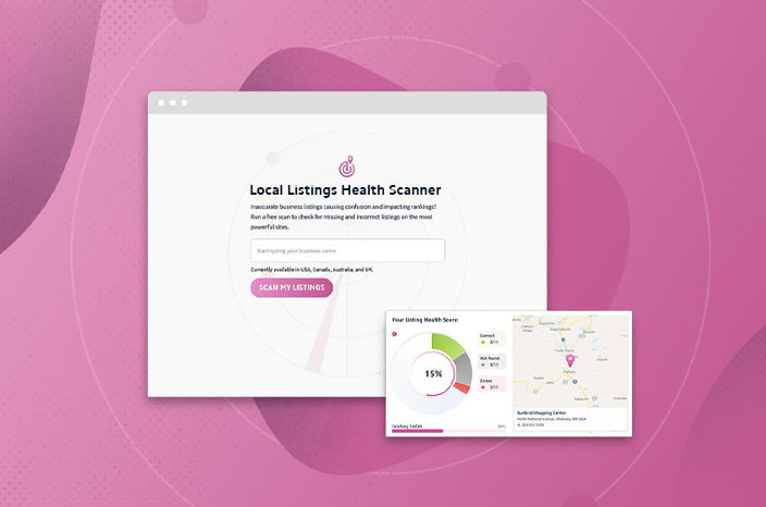 NEW FREE TOOL: Scan Top Citations Sites with the Local Listings Health Scanner