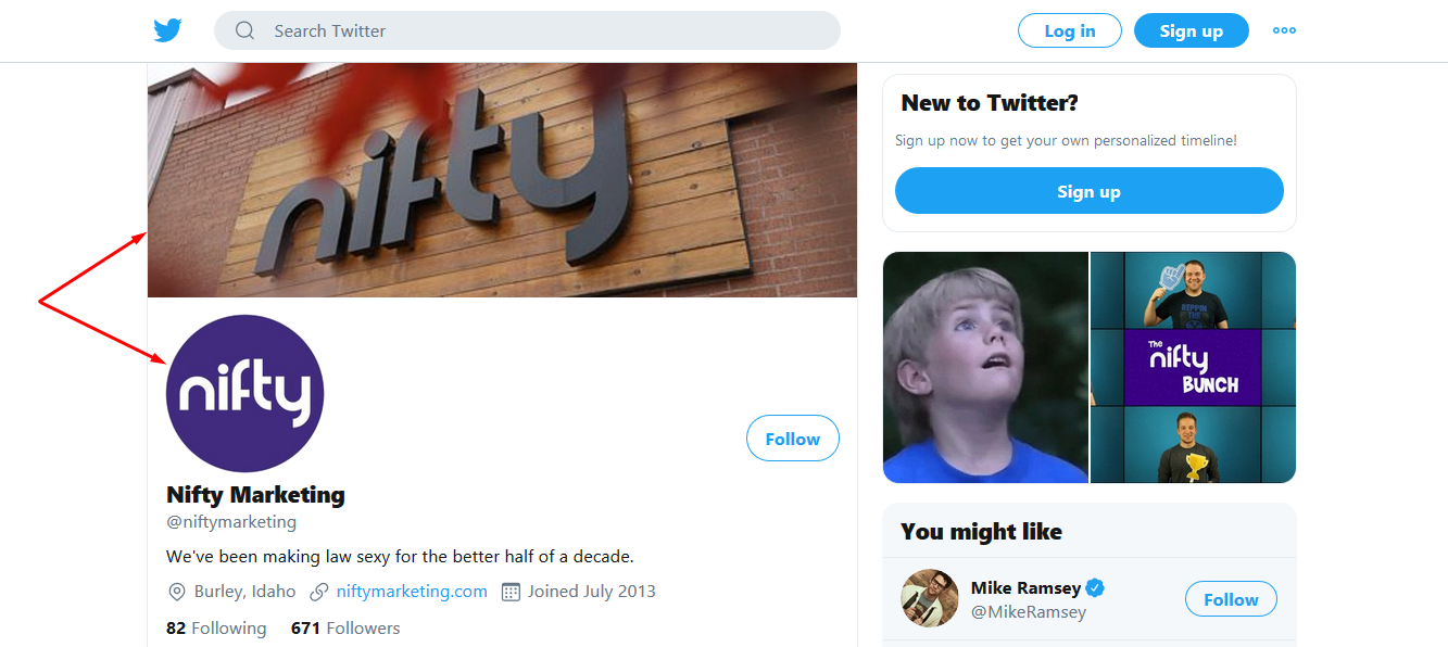Nifty Marketing twitter