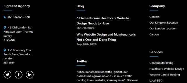 Website NAP