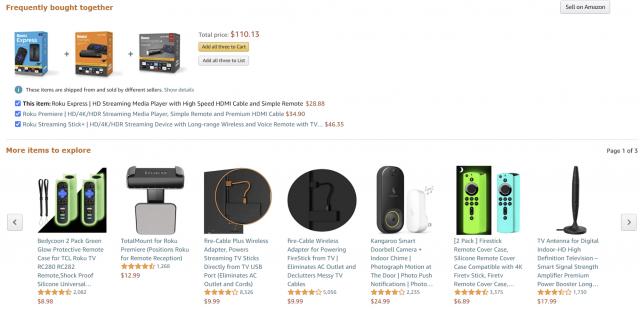 Amazon example