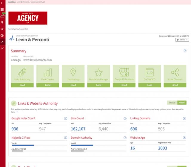 LSA Sample Report