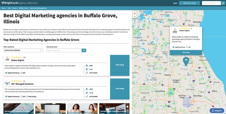 Agency Directory Listing