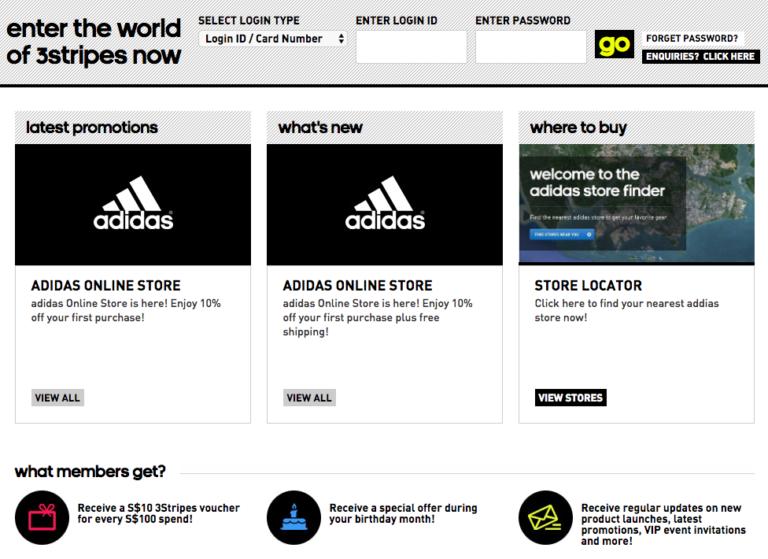 Adidas customer loyalty example