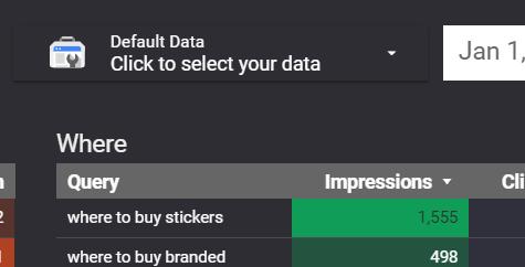 Google Data Studio Screenshot 2