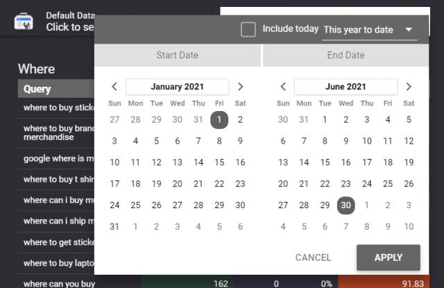 Google Data Studio Screenshot 3
