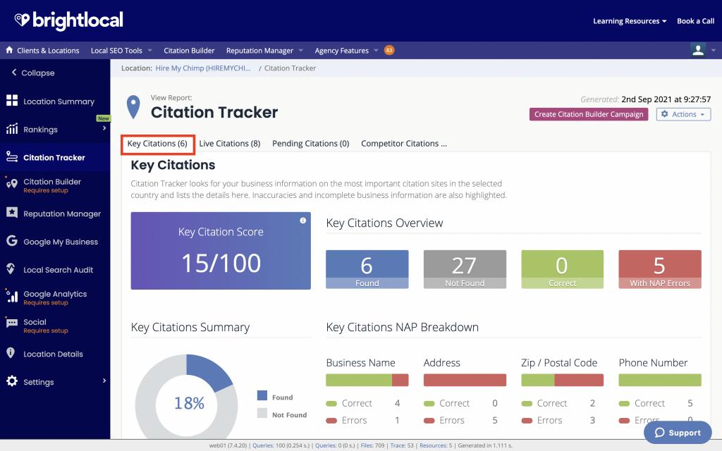 Citation Tracker Key Citations