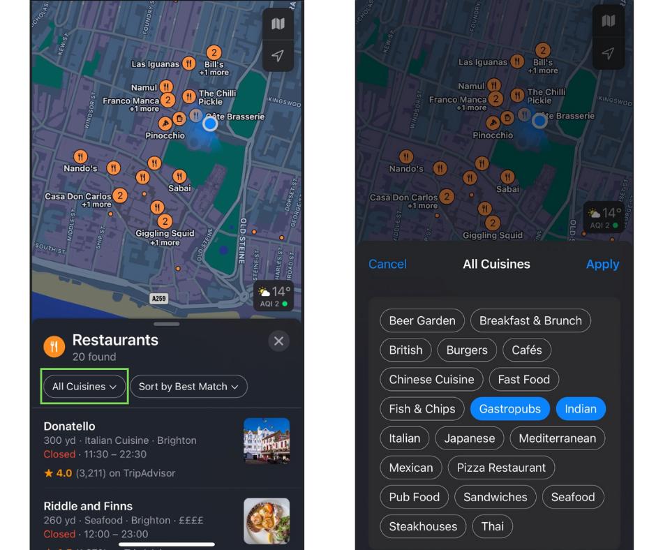 Ios 15 Apple Maps Updates
